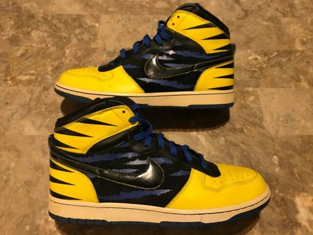 e46c67fa 2009 Nike Big High QK Wolverine X Men Dunk OG QS Size 12 (370428-701 ...