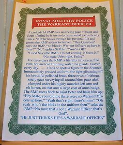Royal-Military-Police-Warrant-Officer-Joke
