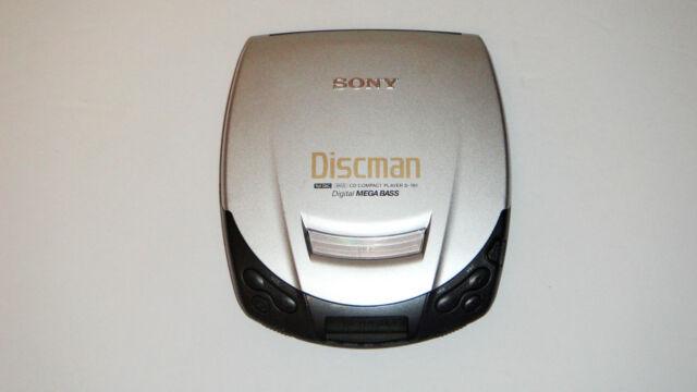 Sony Discman Model D-191 Portable CD Player with Digital Mega Bass