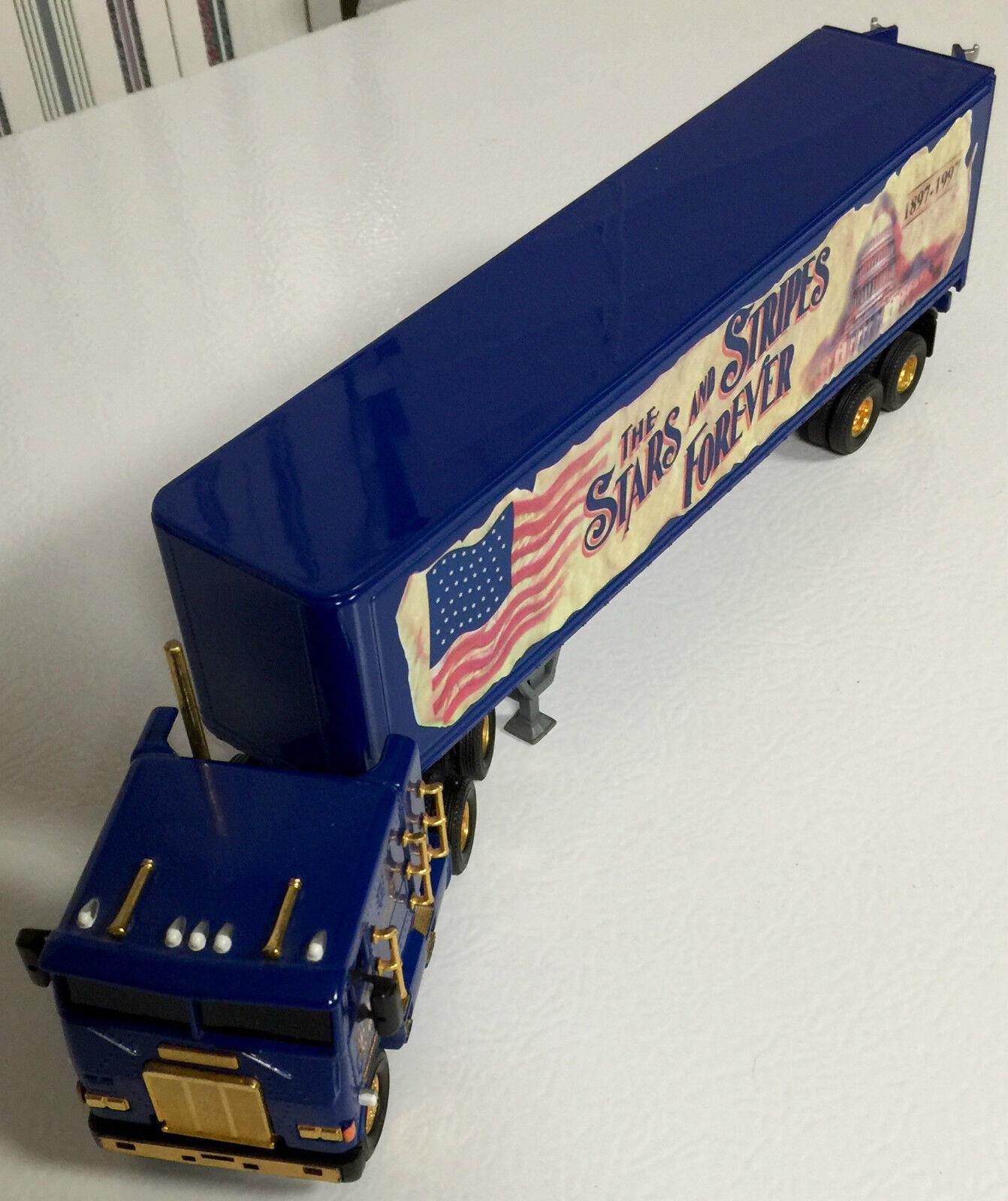 Matchbox Stars and Stripes Forever Freightliner C.O.E. Centennial 1897-1997 1 58