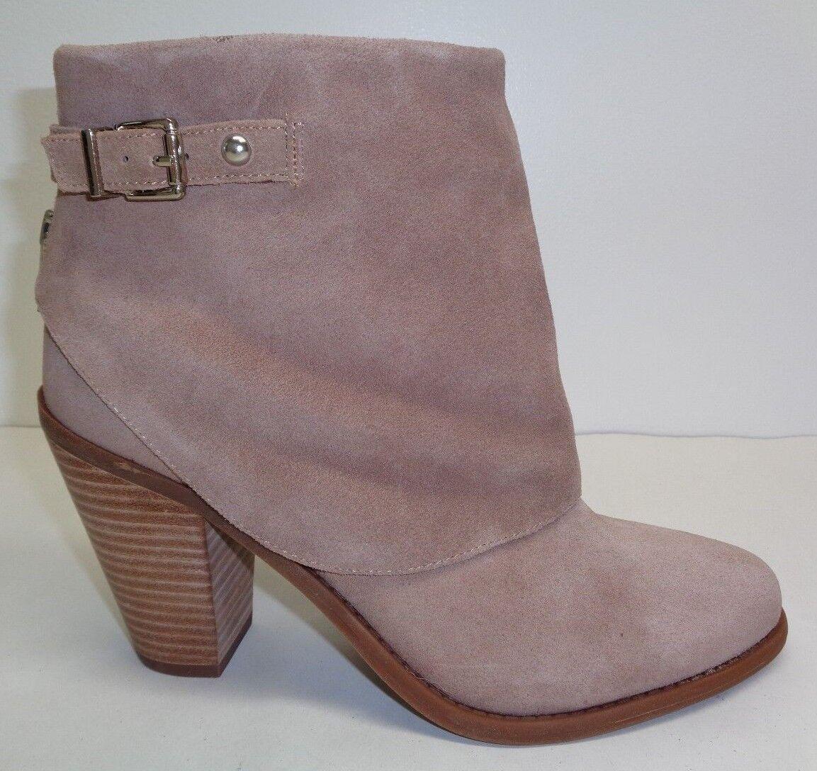 Jessica Simpson Größe 9 M CASSLEY Taupe Split Suede Ankle Stiefel NEU Damenschuhe Schuhes