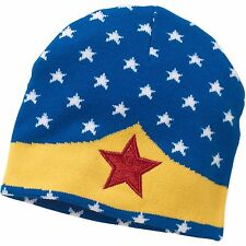 Wonder Woman Knit Beanie Hat DC Comics Licensed Womens Cap