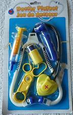 Jeu de docteur enfant jouets Médicale bleu  jaune neuf