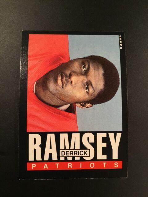 1985 Topps # 331 DERRICK RAMSEY New England Patriots