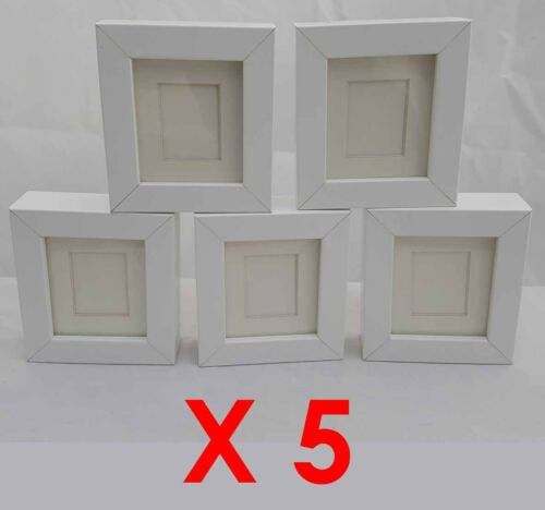 5 X WHITE TYSSLINGE REPLACEMENT SMALL CRAFT FRAMES  IKEA