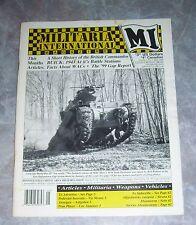 Militaria International Magazine May 1999 British Commandos Facts about WACs