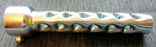 EXHAUST SILENCER FILTER 47mm CHROME 4 STROKE DB KILLER TRACK DAY CUSTOM COBRA