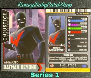 Injustice Arcade Series 1 Out Of Print Card 59 Animated Batman Beyond Ebay