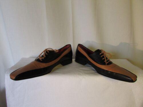 Black Derbies Caramel Openwork 36 and Free Lance Leather OzvHq5