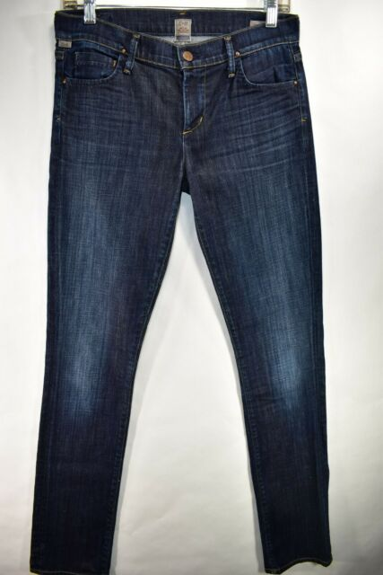 Citizens of Humanity Ava Low Rise Straight Leg Jeans Tag 27 Meas 29x34.5 Stretch