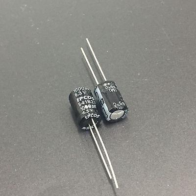 10pcs 1000uf 6.3v Sanyo Radial Electrolytic Capacitors CA 6.3v1000uf