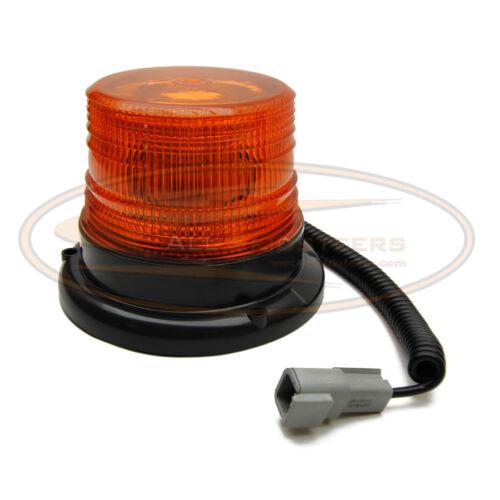 Bobcat Beacon Strobe LED Light Magnetic Skid Steer S220 S250 S300 S330 A300 Snow