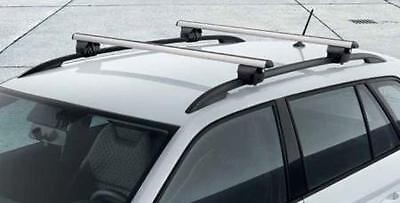 HEAVY DUTY CAR ROOF BARS RACK RAILS LOCKABLE SKODA OCTAVIA ESTATE 04-09