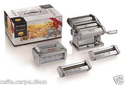 MARCATO Multipast set Sfogliatrice + 5 Accessori Pasta Maker Lasagne Ravioli