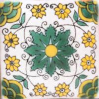 C100 Mexican Ceramic Handmade Talavera Tile Sets