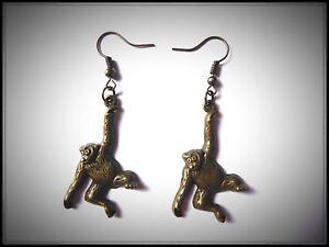 King Cobra Earrings,Pierced,Drop,Snake,Hamadryad,Unisex,Danglies,Earrings,Gift