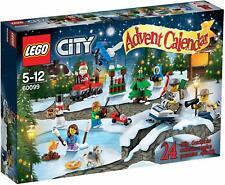 Lego 60099 CITY ADVENT CALENDAR ~ 278 pcs ~ 24 Unique Gifts ~ NIB ~ 2015
