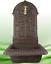 Fontana-da-Parete-Ferro-Colato-Rustico-Braun-H-65cm-Vasca-Metallo-Ottone-Acqua miniatura 1