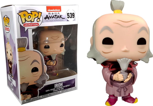 IROH with Tea Avatar The Last Airbender Funko Pop Vinyl New in Box