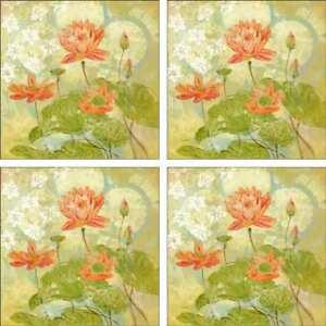 Floral-Accent-amp-Decor-Tile-Set-Evelia-Ceramic-Backsplash-Flower-Art-OB-ES76aAT