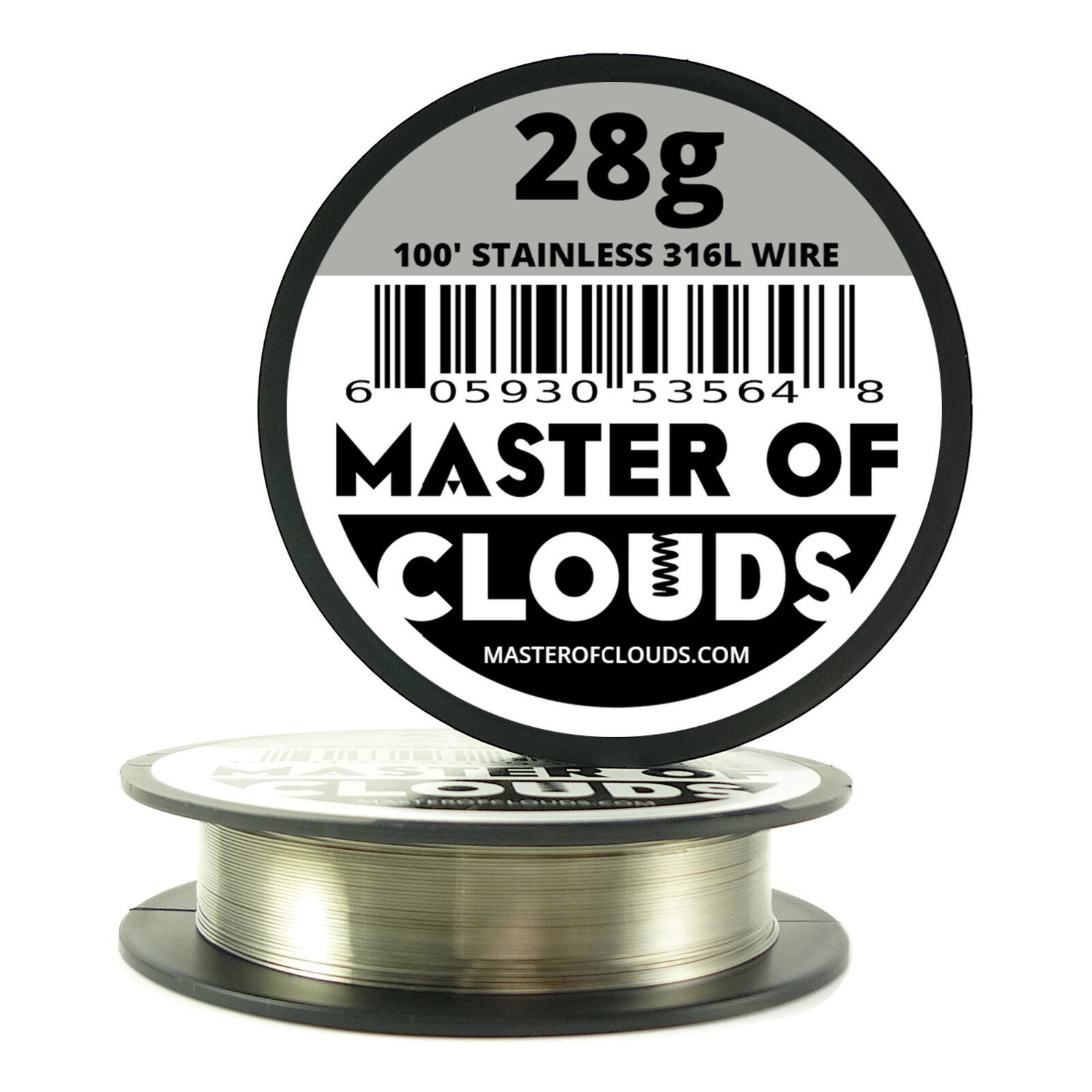 SS 316l & Japanese Cotton - 100 FT 28 Gauge Stainless Steel Wire ...