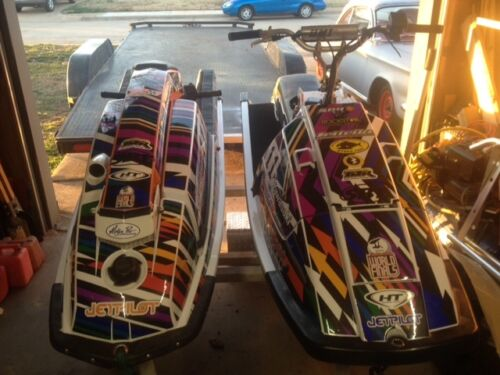 kawasaki 650 x2  jet ski wrap graphics pwc decals decal kit 1985 1995 checker
