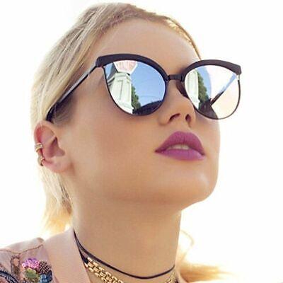 Vintage Cat Eye Sunglasses Women Fashion Mirror Cateye Sun Glasses Female Uv400 Ebay