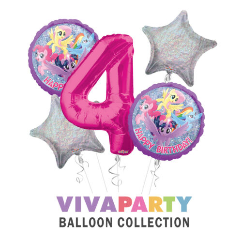 My-Little-Pony Party Supplies Balloon Bouquet Select from Age 1 to 9