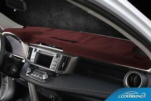Poly Carpet Black Coverking Custom Fit Dashcovers for Select Dodge Caravan Models
