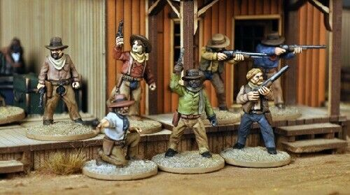 Great Escape Games Cowboys Dead Man/'s Hand 28mm