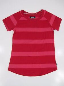 Bonds-Girls-Kids-Short-Sleeve-Round-Neck-T-Shirt-Top-sizes-8-10-12-Colour-Red