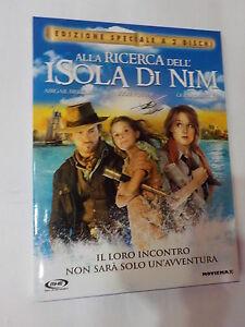 ALLA RICERCA DELL'ISOLA DI NIM - FILM IN DVD - 2 DISCHI - COMPRO FUMETTI SHOP
