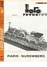 LOCO REVUE N°348 RESEAU FLEISCHMANN-PICCOLO / LOCO VAPEUR / 4546 P.O / BB 9200