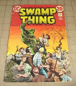 SWAMP-THING-5-Aug-1972-Low-Grade-Condition-Comic-Bernie-Wrightson-Cover