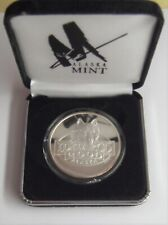 2007 Alaska Iditarod Dog Sled Race 1 Oz .999 Silver Proof Round in Case