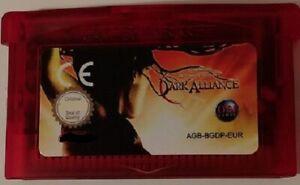 BALDUR-039-S-GATE-DARK-ALLIANCE-Gameboy-Advance-GBA-32-Bit-UE-Versione-Inglese