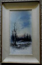 Pastel Painting by well-known artist J. W. Clark