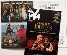 ABSOLUTELY FABULOUS ETC CINEMA FILM MAGAZINE JENNIFER SAUNDERS JOANNA LUMLEY