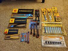 Huge Lot Of New Tools Crescent Tools Tekton Box End Wrench Set Socket Sets
