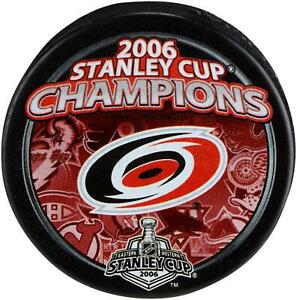 Carolina-Hurricanes-Unsigned-2006-Stanley-Cup-Champions-Logo-Hockey-Puck