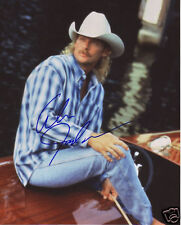 ALAN JACKSON AUTOGRAPH SIGNED PP PHOTO POSTER