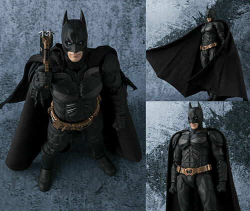 Batman The Dark Knight TDK Bruce Wayne SHF Action Figure Toy Collectible 6/'/' New