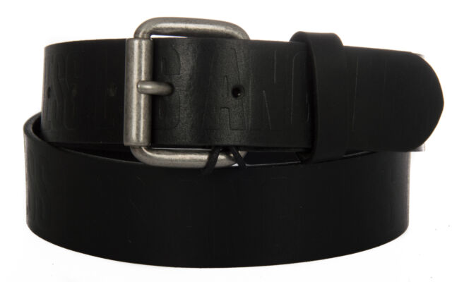 più foto 3df73 12efb Cintura uomo pelle accorciabile belt GUESS a. BM5041 taglia S/90 c. NERO  BLACK