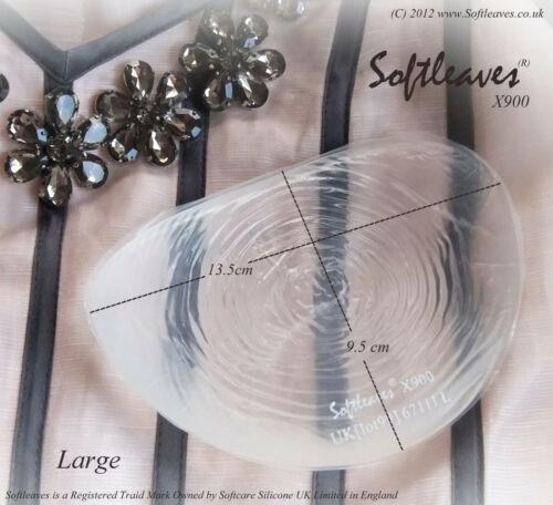 Softleaves X900 Silicone Breast Enhancers Bra Incerts not Breast Brosthesis