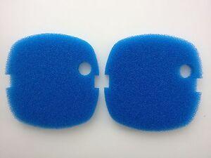 Aquariums & Tanks Pet Supplies 2 X Sunsun Hw-302 Esterno Mezzo Filtrante Blu Grezzo Schiuma Cuscinetti Di Comfortable Feel