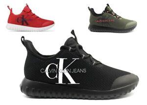 Scarpe da uomo Calvin Klein sneakers a calzino comode basse casual invernali