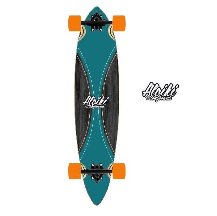 Aloiki Longboard Surf Canard Pilet (schwarz   Grün)