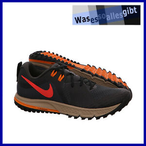 SCHNAPPCHEN-Nike-Air-Zoom-Wildhorse-5-schwarz-rot-Gr-42-R-3470