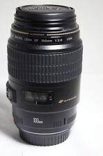 CANON USM 100mm F 2.8 EF Macro 1.1.mm Lens 5D 450D 1100D 550D 7D 1D 650D 600D