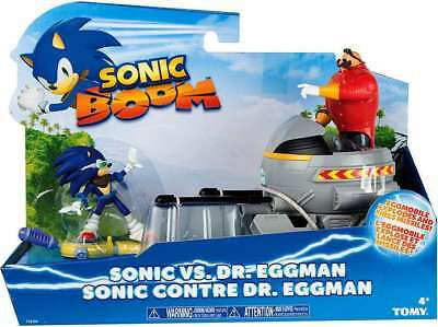 Sonic Boom Sonic Vs Dr Eggman Playset Vehicles Eggmobile Figures Robotnik Ebay